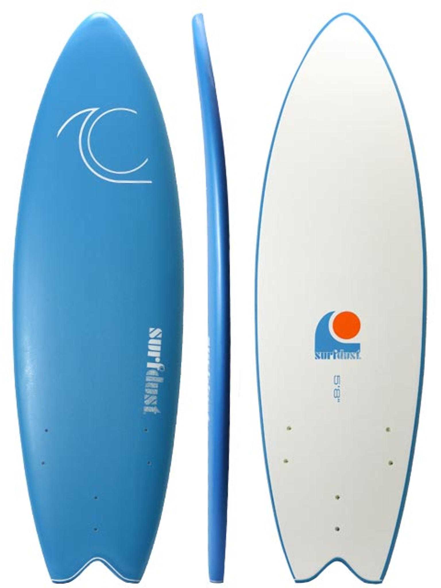 SURFDUST - Primo 5.8ft Fish - Softboard - Soft Surfboard
