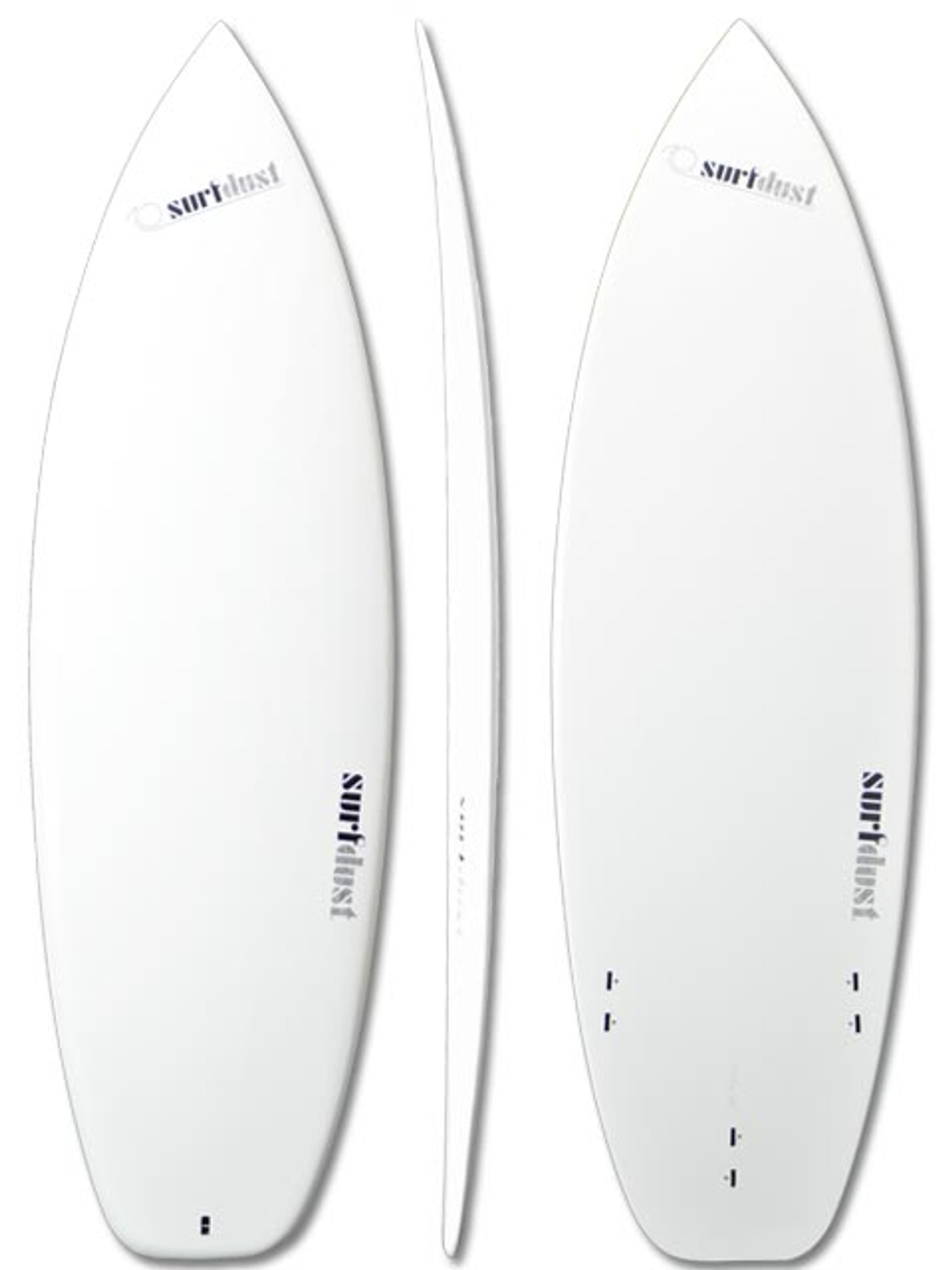 Tri Fins Short Boards SURFDUST Surfboards 5.4ft