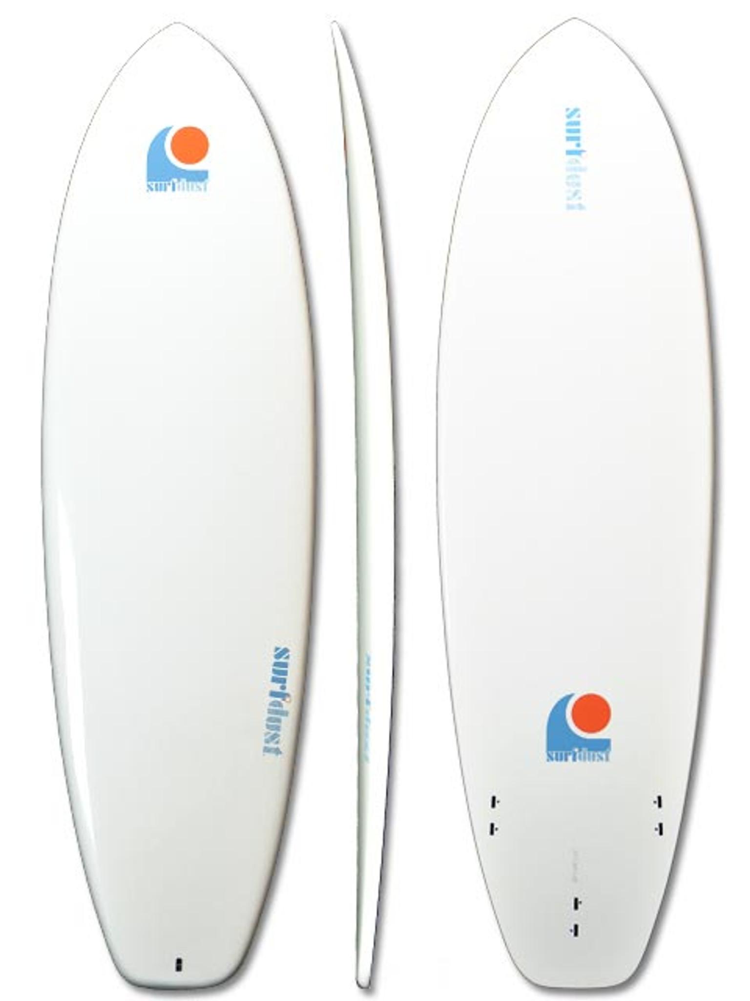 SURFDUST - 6.4ft Mini-Mal Epoxy Surfboard - Surfing