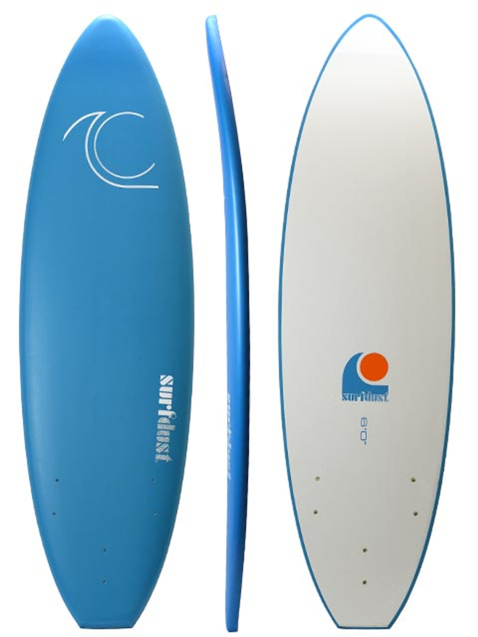 SURFDUST - Intro 6ft Soft Surfboard - Beginners Surfing
