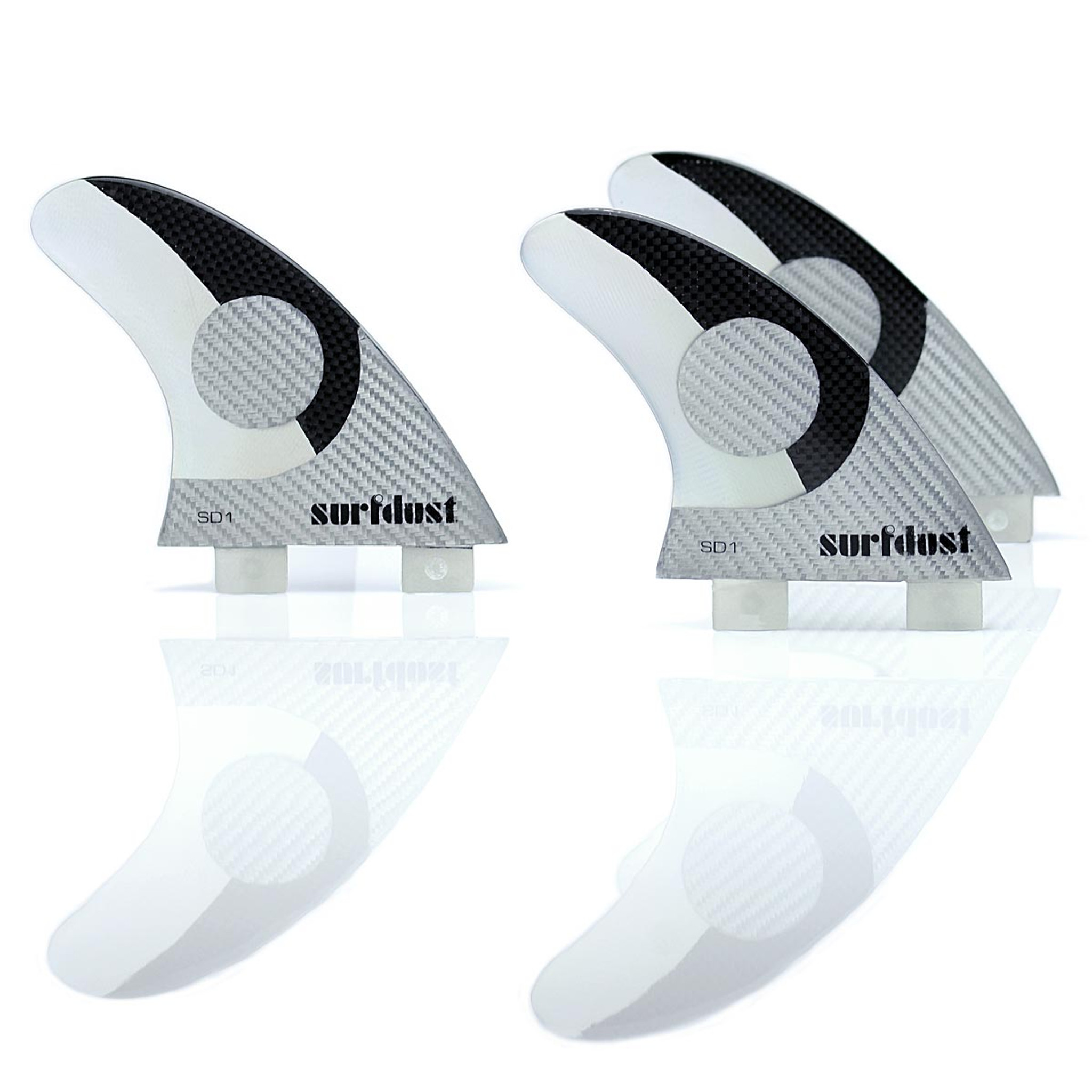 SD1 Double 6oz Carbon Surfboard Fins
