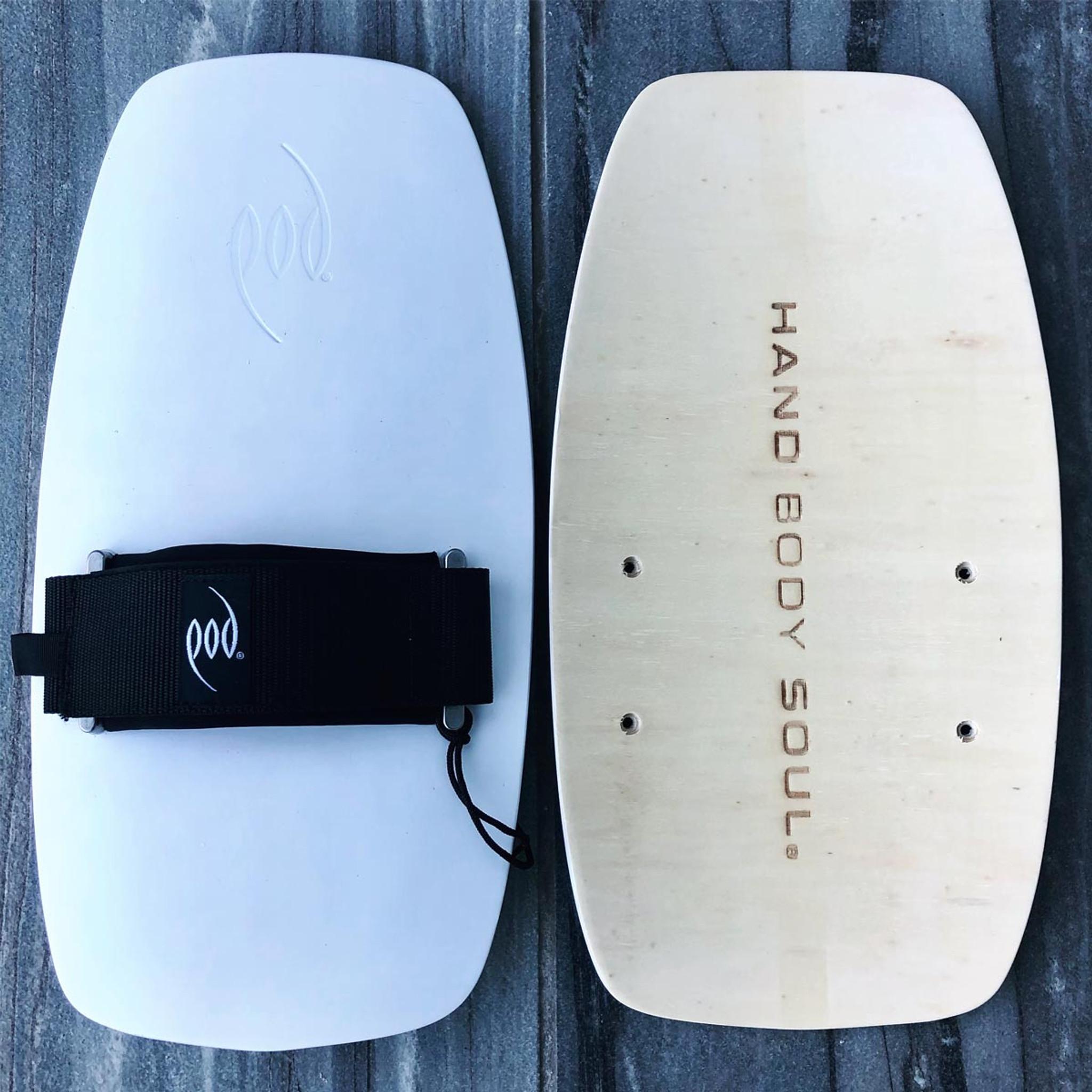 Bodysurfing Gear - Wood Handplane POD PF1s Socks Savers