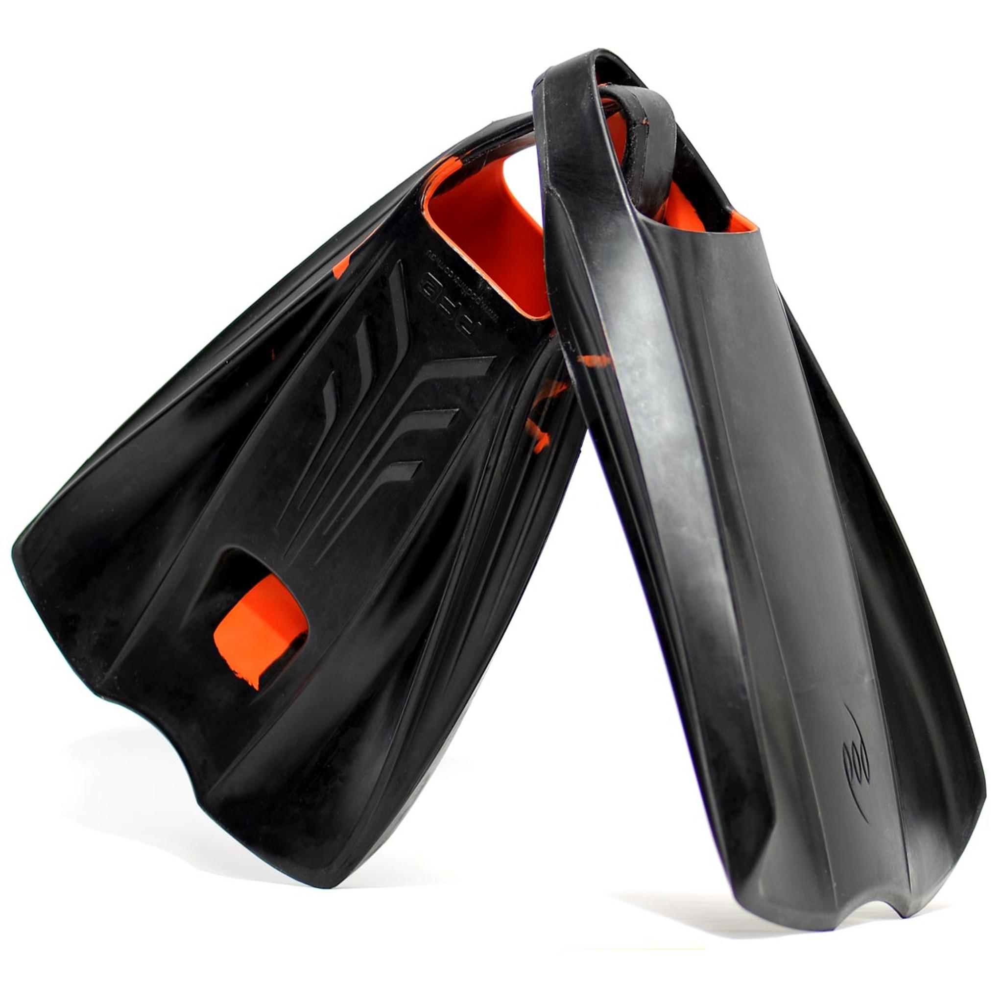 Deluxe Bodysurfing Gear - Handcrafted POD Handboard PF2 Fins
