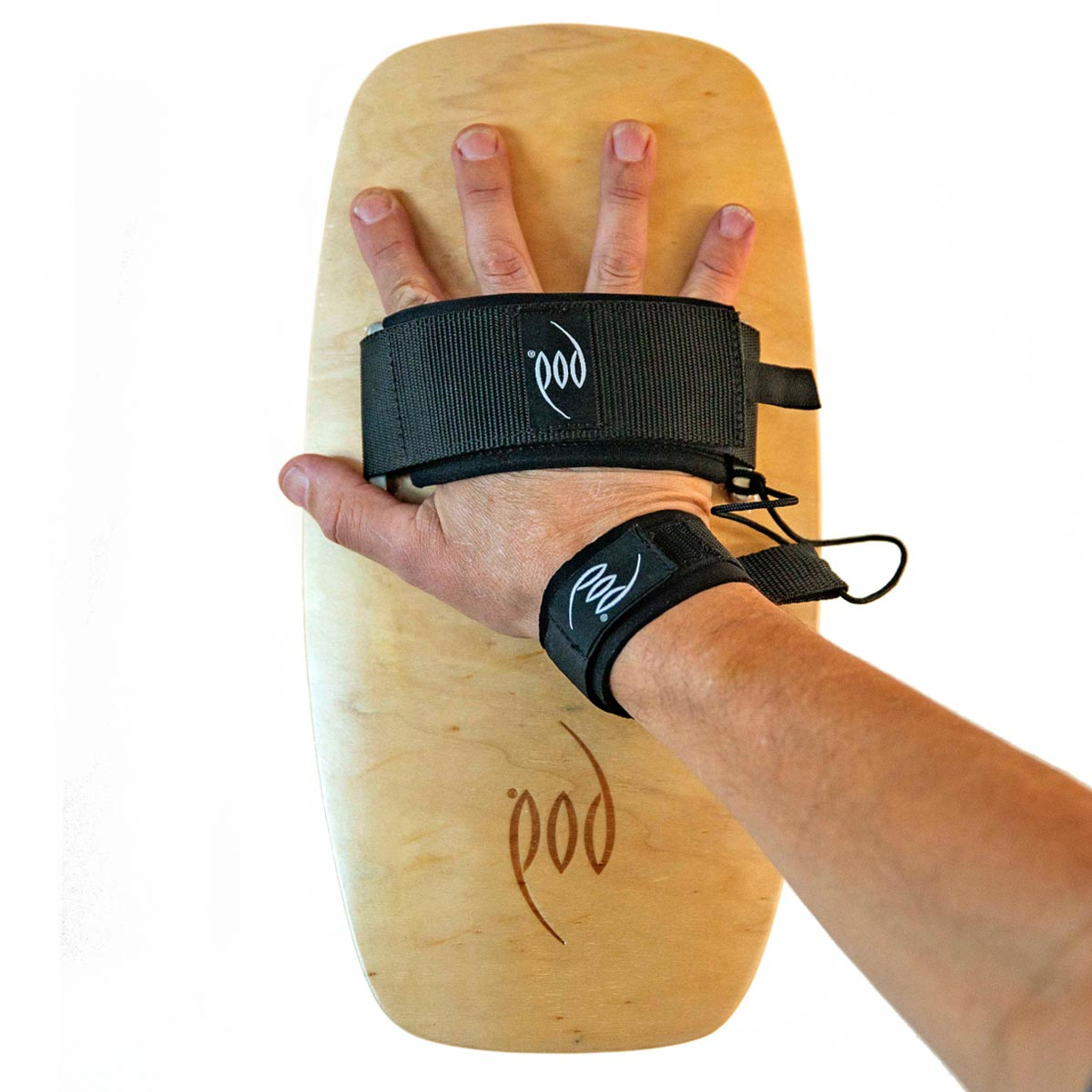 Premium Bodysurfing Tools - Wood Handboard PF3 Socks Savers