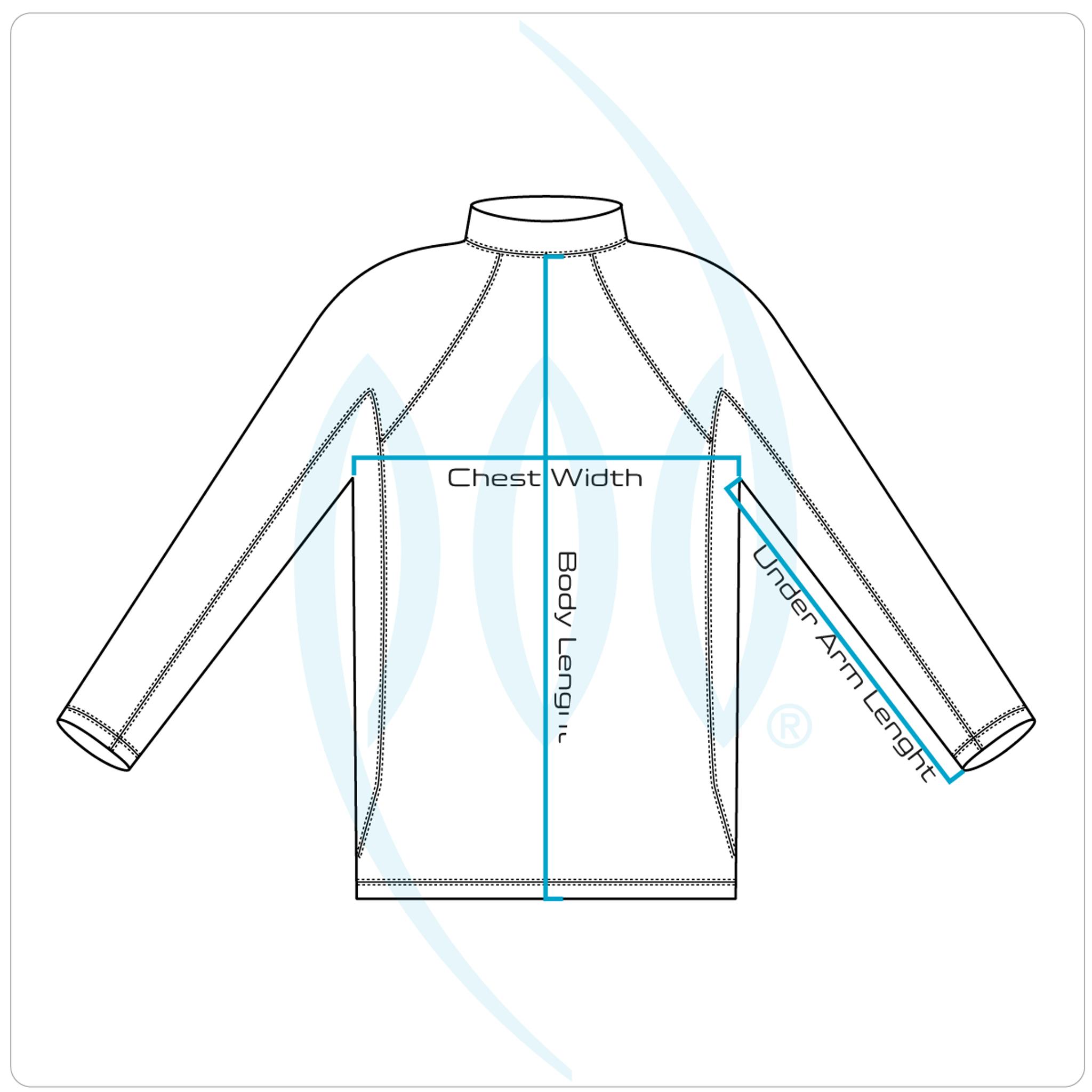 POD Fins PF2 - Long Sleeve Rash Shirt - Rash Guard