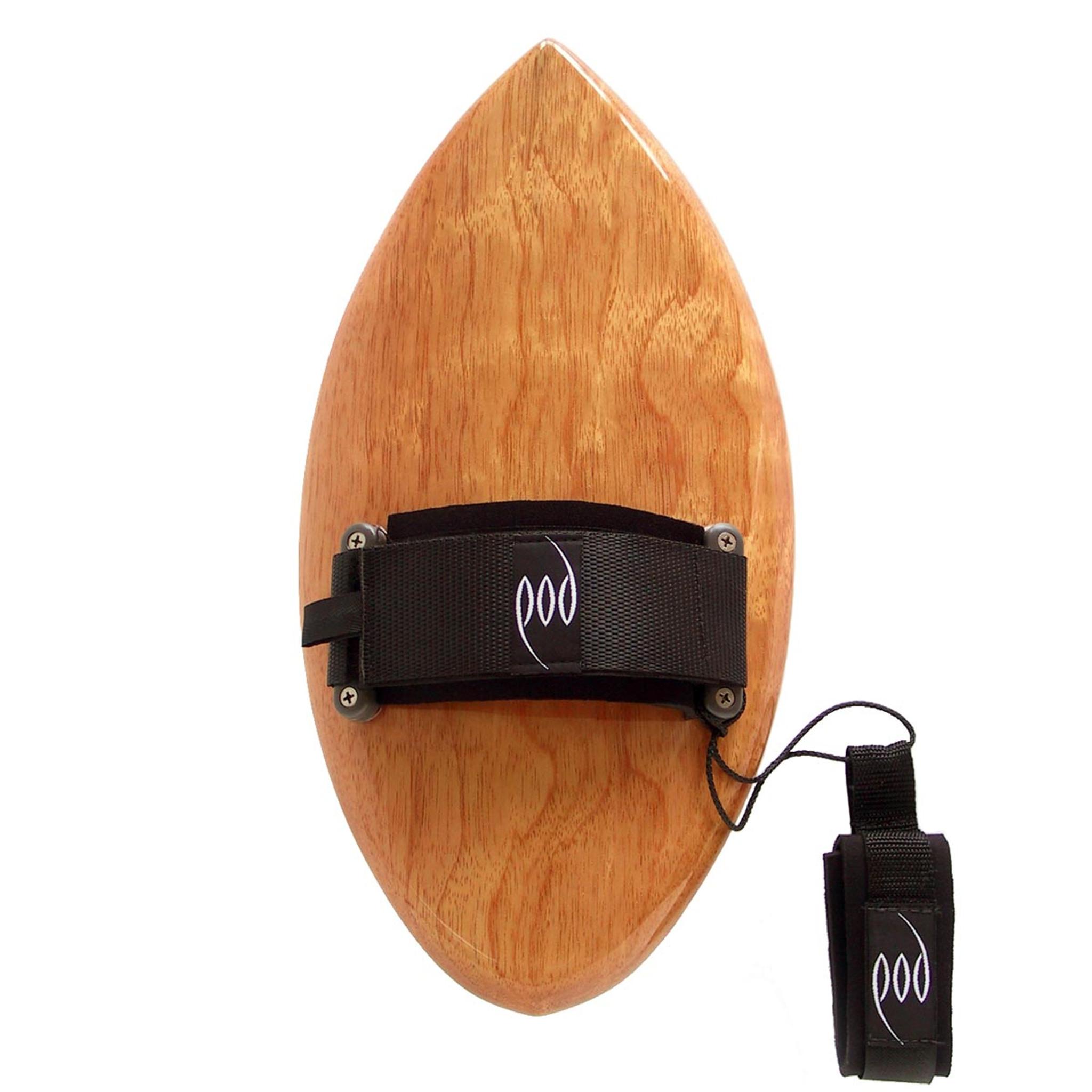 Handcrafted Wood POD Handboard - Long Sleeve Rash Vest