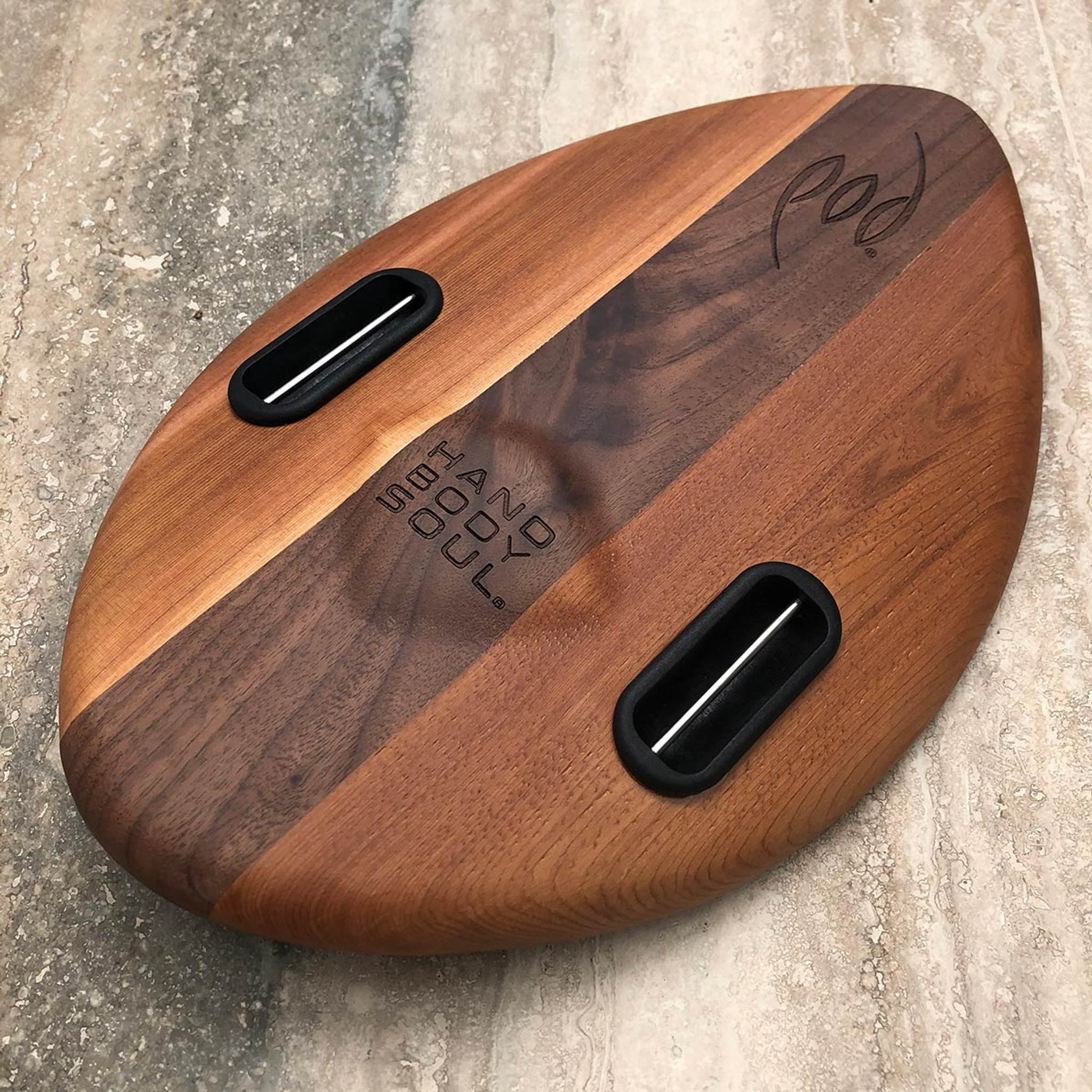 WOO 300mm 12inch Wood POD Handboards - Bodysurfing Handplane