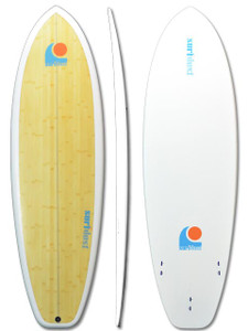 SURFDUST - 6ft Mini-Mals Eco Touch Bamboo Surfboard
