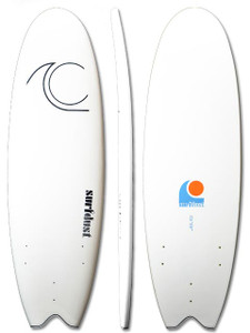 SURFDUST - Primo Soft Surfboard 5.9ft - Fat Fish - Surfing