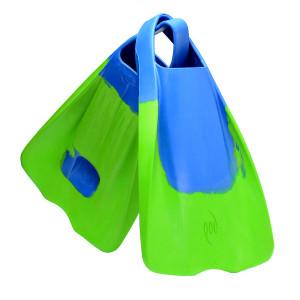 POD Fins PF1 - Limited Edition Blue/Lime Swim Fins