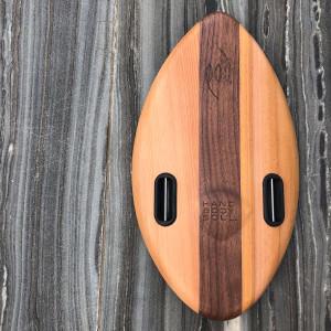 FLO 375mm 15inch Wood POD Handboards -  Bodysurfing Handplane