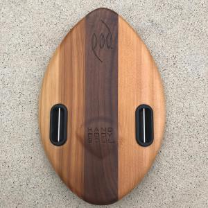 WOO 300mm 12inch Wood POD Handboards - Bodysurfing Handplane
