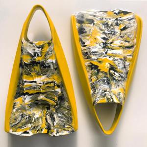 Best Bodysurfing Gear – FLO Wood POD Handboard PF2 Swim Fins