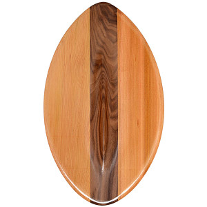 FLO Wood POD Handboard PF3 Swim Fins - Best Bodysurfing Gear