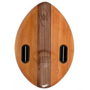 WOO Wood POD Handboard PF3 Swim Fins - Best Bodysurfing Gear