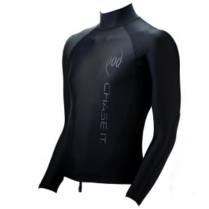 Bodysurfing Handboards Cedar Walnut - Long Sleeve Rash Vest