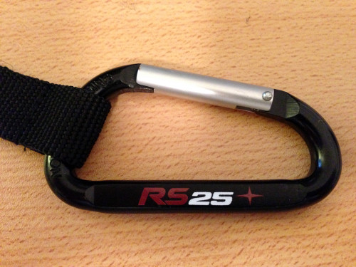 RS25 Carabiner Key Chain