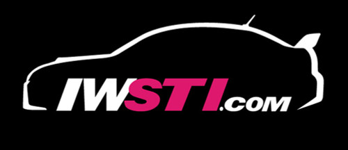 New IWSTI Full Sedan Logo Vinyl Sticker