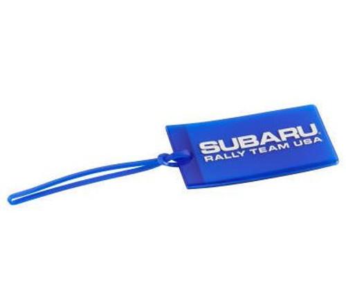 Subaru Rally Team USA Luggage Tag