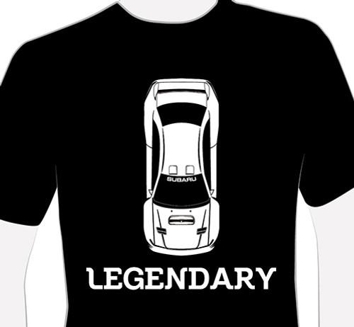 Legendary SUBARU 22B T-Shirt