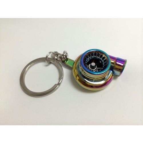 Spinning Turbo Keychain