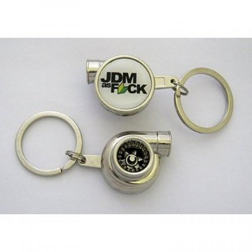 JDM As F*ck Spinning Turbo Keychain
