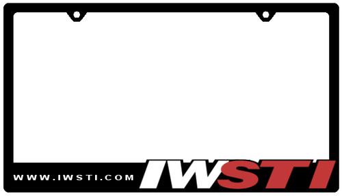 IWSTI License Plate Frame