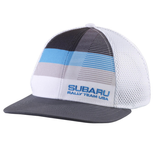 Subaru Rally Team USA Striped Hat - Front