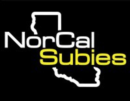 NorCalSubies Rear Window Decal (Black/White/Gold)