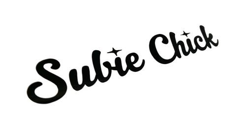 Subie Chick Sticker