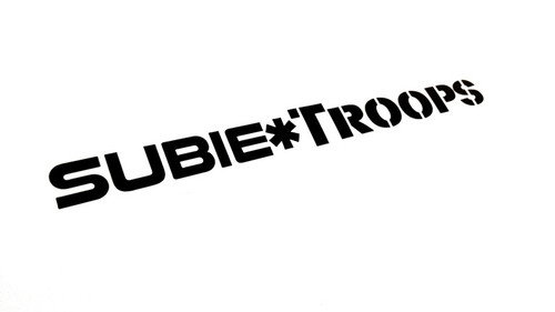Subietroops Sticker Decal
