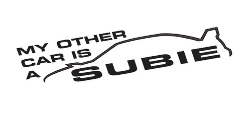My other Car Is A SUBIE