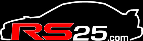 RS25 GC8 Logo Vinyl Sticker