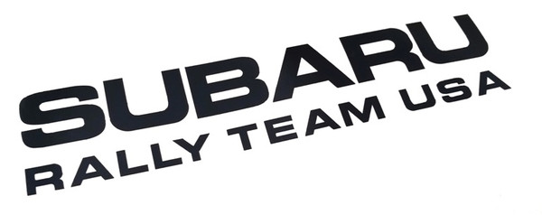 Subaru Rally Team USA Vinyl Decal