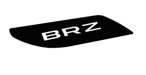 17+ OEM Style BRZ Spoiler Wing Overlays
