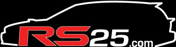 RS25 Wagon Logo Vinyl Sticker
