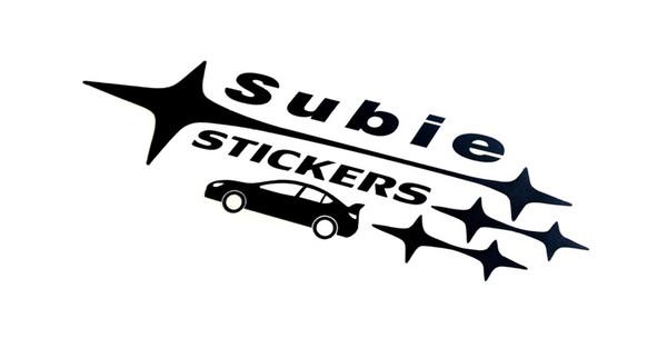 Subie Stickers Logo Decal