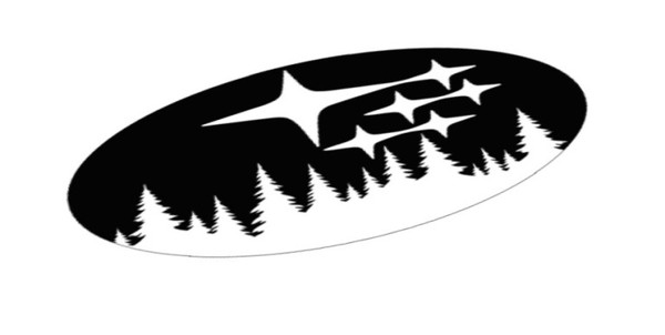 Star Cluster Forest Emblem Overlay