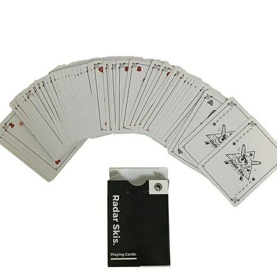 Radar Skis Playing Cards