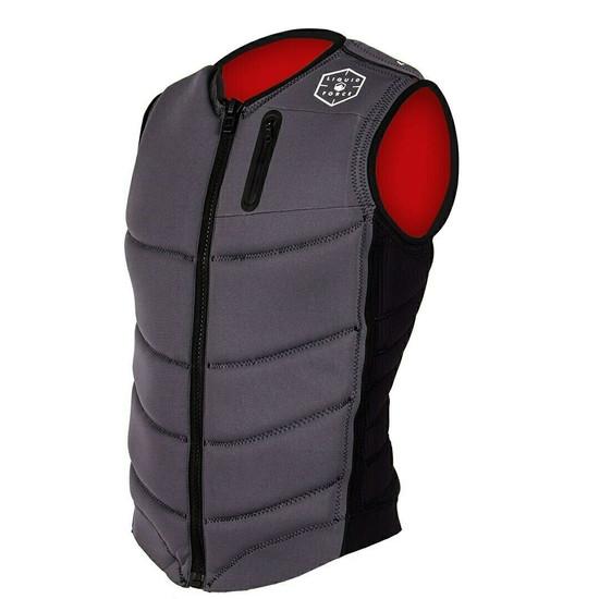 Liquid Force Squad Comp Vest - Grey/Black
