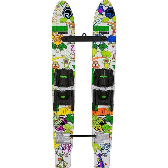 "Radar Firebolt Kid's 46"" Combo Water Skis - Colored"