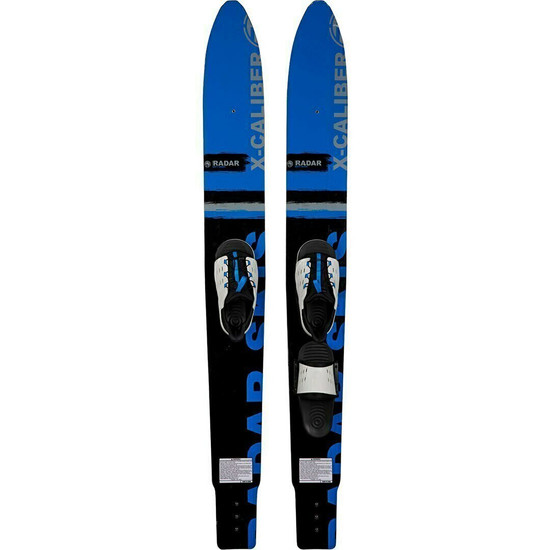 Radar X-Caliber Combo Water Skis w/ Cruise Binding