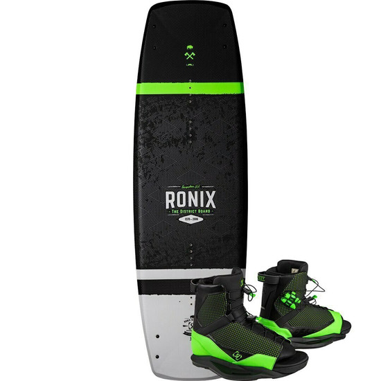 Ronix District Wakeboard Package w/ District Boots - 2020