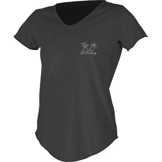 O'neill Womens SS Graphic Rash Tee - Front