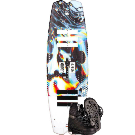 Liquid Force Remedy Wakeboard Package W/ Classic 6X Boots - 2021