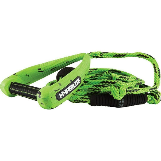 Hyperlite Pro Surf Rope W/ Handle - Green