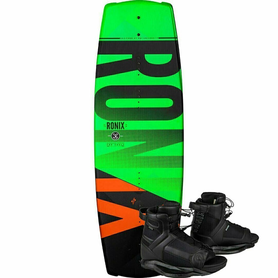 Ronix Vault 128 Kid's Wakeboard Package w/ Divide Boots - 2020