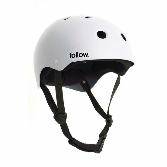 Follow Safety First Wakeboard Helmet - White