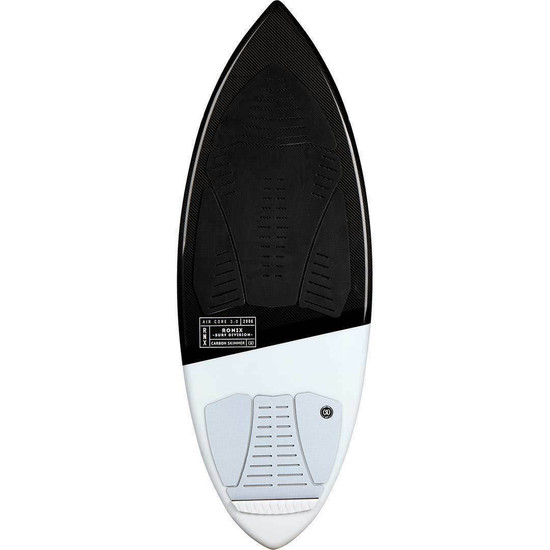 Ronix Carbon Skimmer Wakesurf Board - Top View