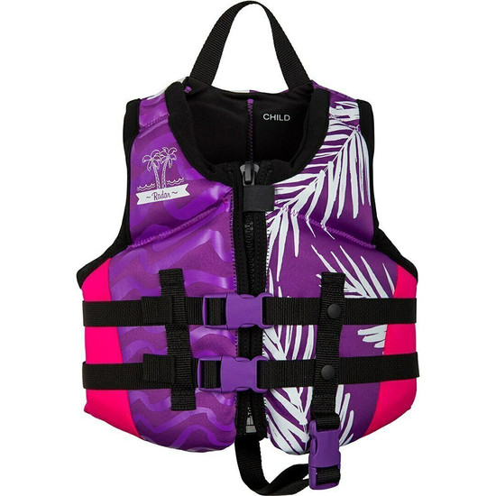 Radar Girl's Child Life Jacket - Front
